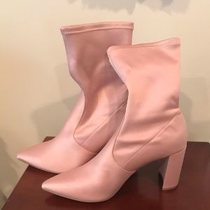 INC dusty rose boots